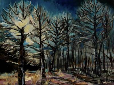 Painting - Winter Rays by Grace Diehl