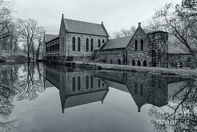Black Byrd Photograph - Winter Reflections by Ava Reaves
