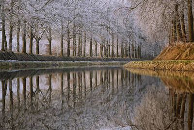 Winter Netherlands Photograph - Winter Reflections IIi by Martin Podt