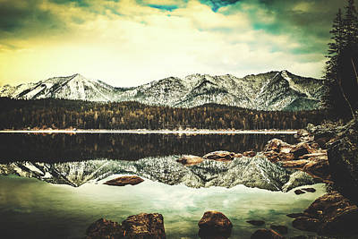 Photograph - Winter Reflections by Unsplash