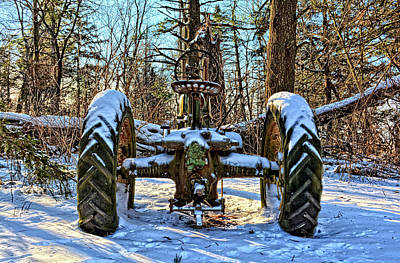 Photograph - Winter Rest by Bonfire Photography