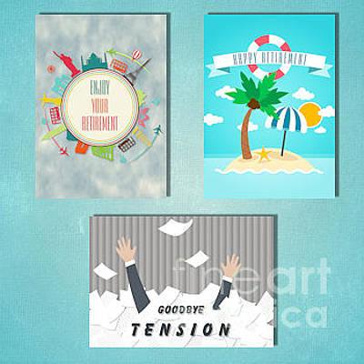 Digital Art - Winter Retirement by JH Designs