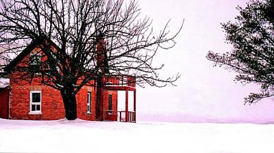 Photograph - Winter Retreat by Bryan Smith