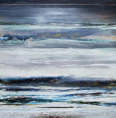 Winter Rhythms Redesdale Blue Series 2009 Art Print by Mike   Bell