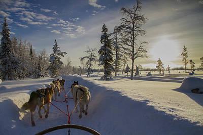 Photograph - Winter Ride by Andreas Dobeli