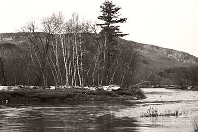Photograph - Winter River Number One by Heather Kirk