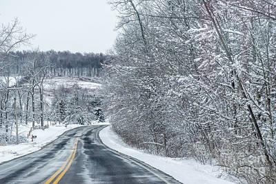 Grace Kelly - Winter Road by Joann Long