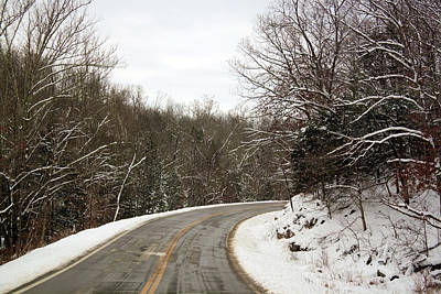 Photograph - Winter Road by Scott Sanders