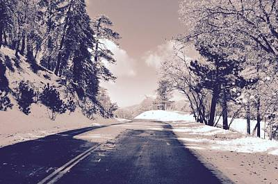 Photograph - Winter Roads by Joe  Burns
