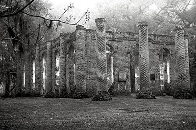 Photograph - Winter Ruins by Scott Hansen
