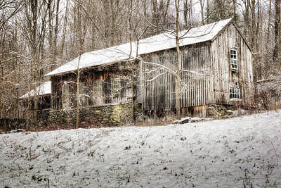 Photograph - Winter Rustic 2018 by Bill Wakeley