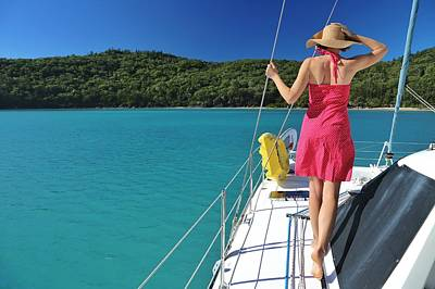 Photograph - Winter Sailing In The Whitsundays by Keiran Lusk