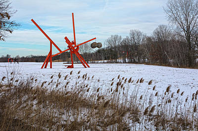 Photograph - Winter Scene At Storm King by Angelo Marcialis