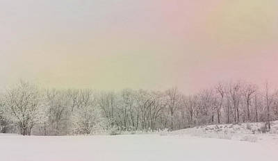Photograph - Winter Scene - Colorful Sky by Patti Deters