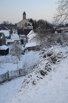 Photograph - Winter Scene In North Wales by Harry Robertson