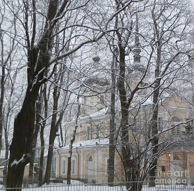 Snow Photograph - Winter Scene In St. Petersburg by Margaret Brooks