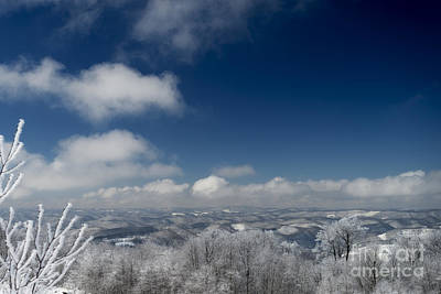 Photograph - Winter Scene Near Thomas Wv by Dan Friend