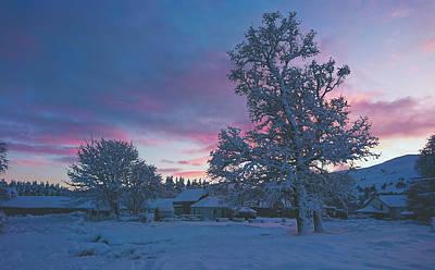 Photograph - Winter Scene - Scotland Farm by Pixabay