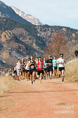 Steven Krull Photos - Winter Series II PeakRunners by Steven Krull