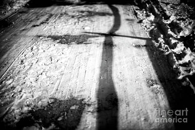 Photograph - Winter Shadows by John Rizzuto
