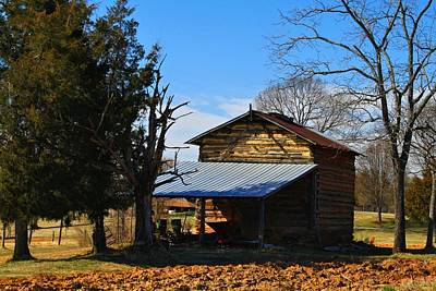 Photograph - Winter Shed 2 by Kathryn Meyer