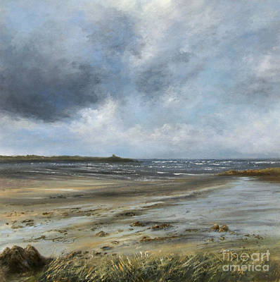Painting - Winter Shoreline by Valerie Travers
