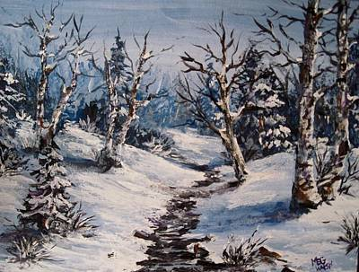Painting - Winter Silence by Megan Walsh