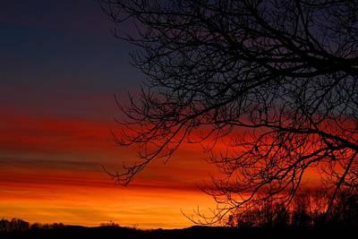 Photograph - Winter Sky by Kathryn Meyer