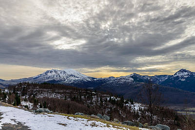Photograph - Winter Sky by Michael Scott