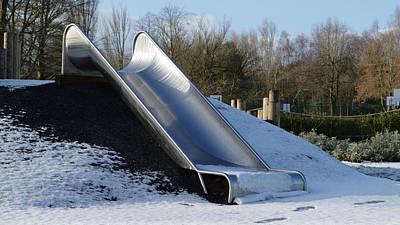 Winter Slide Art Print