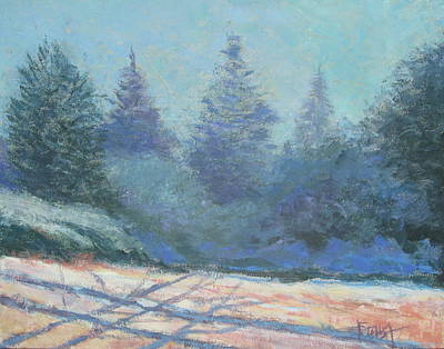 Painting - Winter Slope by Gene Foust