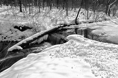 Photograph - Winter Snow Scene by Joni Eskridge
