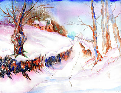 Painting - Winter Snow by Xavier Francois