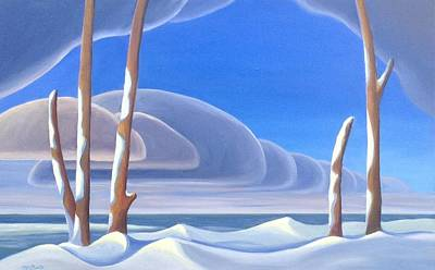 Painting - Winter Solace by Barbel Smith