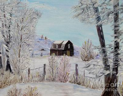 Winter Solace Art Print