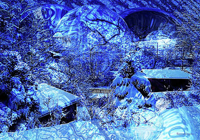 Winter Solace Art Print by Robert Orinski