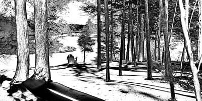 2 Solitudes Photograph - Winter Solitude 2 by David Patterson