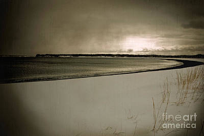 Art Print featuring the photograph Winter Solitude by Alana Ranney