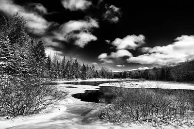 Photograph - Winter Solitude by David Patterson
