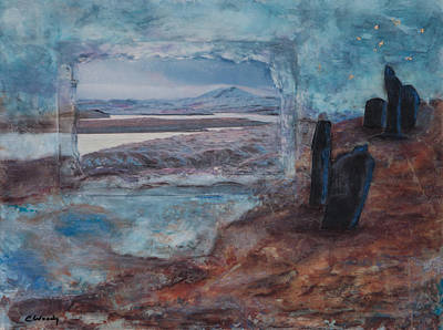Mixed Media - Winter Solstice by Carla Woody