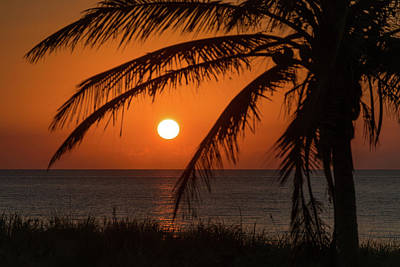 Photograph - Winter Solstice Sunrise 2 Delray Beach, Florida by Lawrence S Richardson Jr