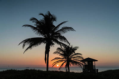 Photograph - Winter Solstice Sunrise Delray Beach Florida by Lawrence S Richardson Jr