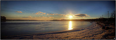 Photograph - Winter Solstice Sunset 2 by John Meader