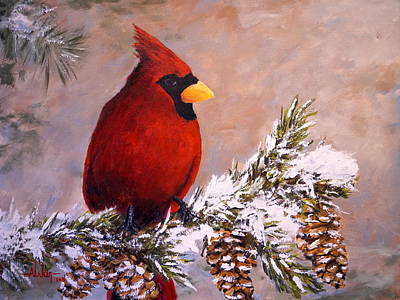 Painting - Winter Song by Alan Lakin