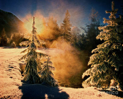 Photograph - Winter Song by Edmund Nagele