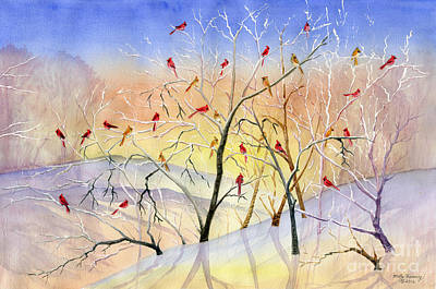 Painting - Winter Song by Melly Terpening