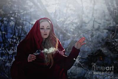 Photograph - Winter Spell by Agnieszka Mlicka