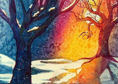 Painting - Winter by Starr Weems