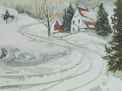 Winter Start Art Print