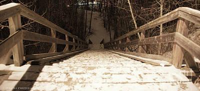 Wall Art - Photograph - Winter Steps by Christine Mlynarchuk